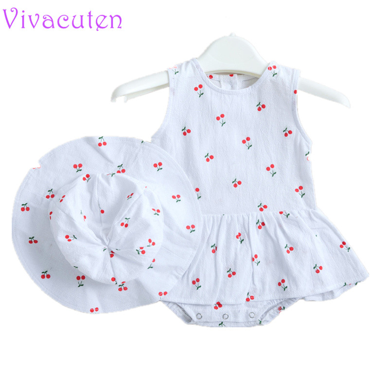 2019 Summer Baby Bodysuit Conjoined Dresses Baby Girls Butters And Crawling Suits Korean Version Of Baby girls clothes with hat2019 Summer Baby Bodysuit Conjoined Dresses Baby Girls Butters And Crawling Suits Korean Version Of Baby girls clothes with hat