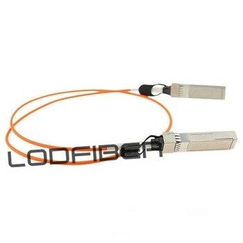 3m (10ft) Dell Force10 CBL-10GSFP-AOC-3M Compatible 10G SFP+ Active Optical Cable