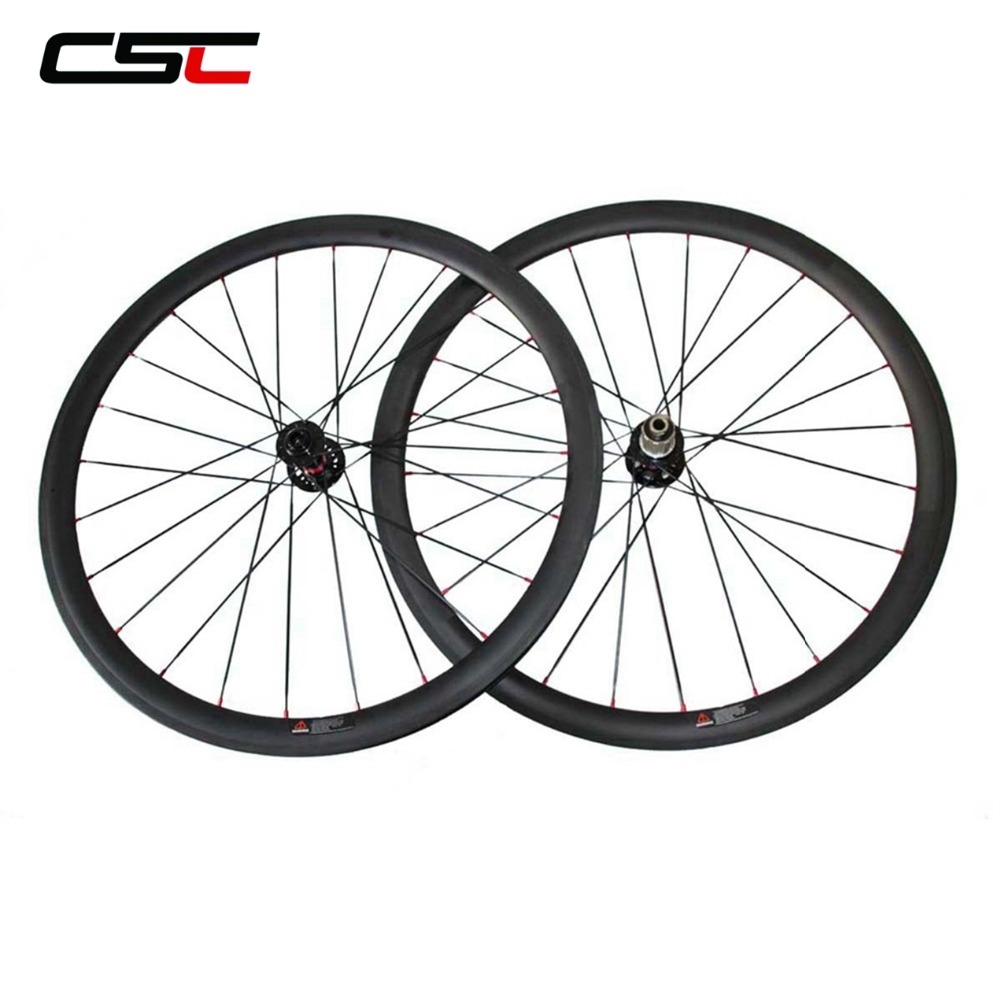 Disc Cyclocross Carbon Wheel 38mm 50mm 60mm 88mm Tubular Clincher 25mm Width U Shape Carbon Disc