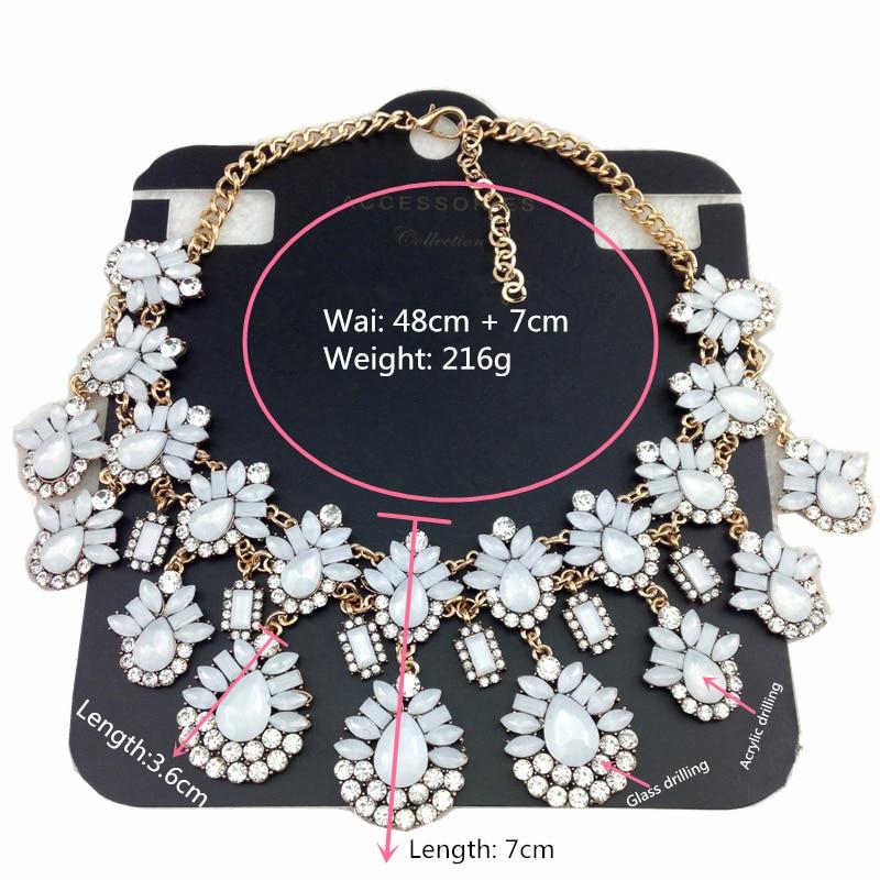 1659b976d74d Mujeres declaración Collares bastante de moda acrílico Colgantes collar  rhinestone mariposa formal diseñador de moda collar lindo