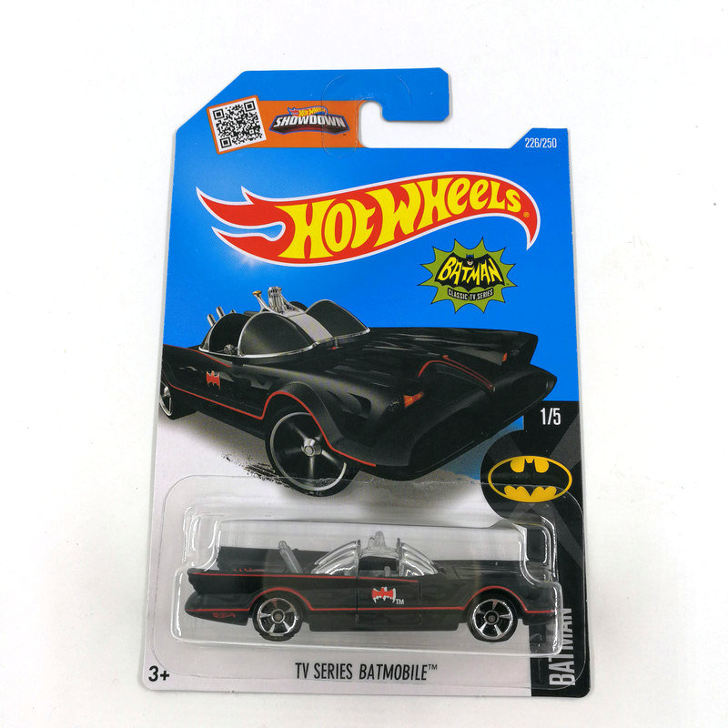 2016 Hot Wheels 1:64 Car TV SERIES BATMOBILE Collector Edition Metal Diecast Cars Collection Kids Toys Vehicle For Gift