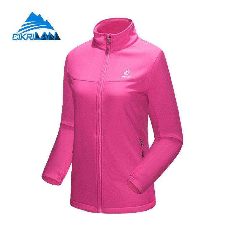 New Ladies Windbreaker Water Resistant Camping Hiking Coat Sport Outdoor Softshell Jacket Women Climbing Fishing Casaco Feminino