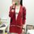 2016 Otoño Nueva Marca Moda Jerseys Mujer de Manga Larga Con Cuello En V de Punto Solo Botón A Cuadros Populares Suéter de Alta Calidad