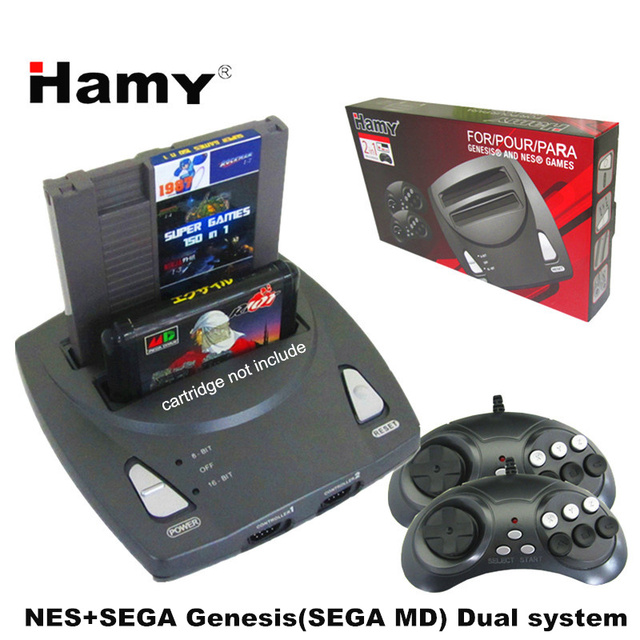 Dual System - NES & Sega Genesis (Supports MD) Console