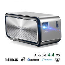 JMGO J6S, Full HD Android-projector, 1920x1080 resolutie, 1100 ANSI lumen, ingesteld in WIFI, HIFI Bluetooth-luidspreker, HDMI, 4K LED-tv