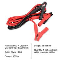 Booster Cable 1800A 3meter 10ft Heavy Duty Car Power Booster Cable Emergency Battery Jumper Cables Battery