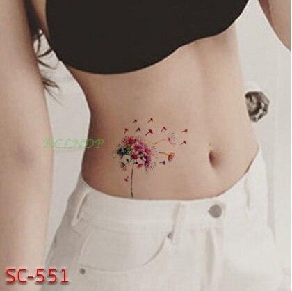 Impermeable Etiqueta Engomada Del Tatuaje Temporal Hermoso Vuelo De