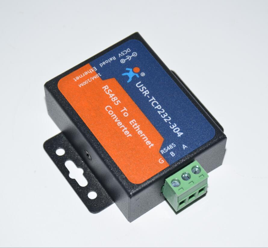1pc Automation Control Serial RS485 To TCP/IP Ethernet Server Converter Module With Built-in Webpage DHCP/DNS Supported