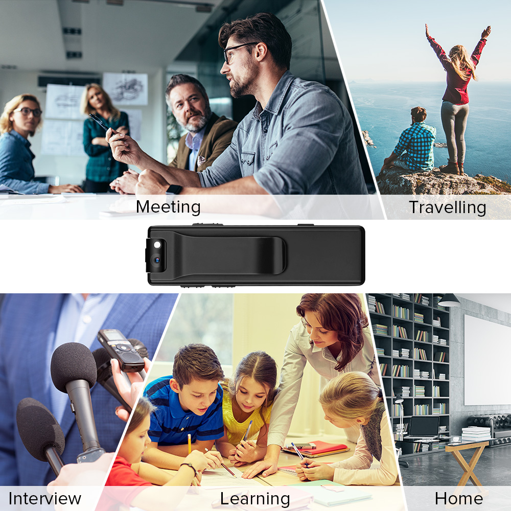 Vandlion A3 Body Camera Mini Digitale Hd Camera Micro Cam Magnetische Motion Snapshot Zaklamp Loop Recording Camcorder Video Cam 5