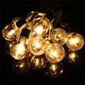 1.5M 10 LED String Light Battery Power Multicolor Globe Balls Bulb Fairy Lamp Christmas Wedding Party Home LED Outdoor Light