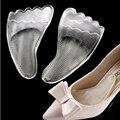 Gel de Silicona Antepié Plantillas Cojín Del Zapato de Las Mujeres de Tacón Alto Elástico Cojín Proteja Cómodo Pies de Palm Cuidado Cojines Del Zapato Accesorios Z02001