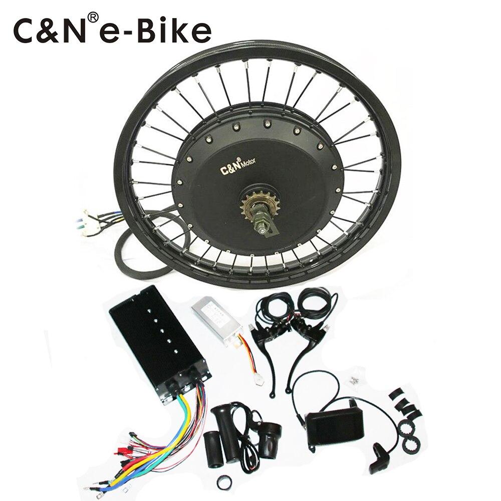 2019 Powerful Leili 72v 8000w Electric Bike Conversion Kit for enduro ebike