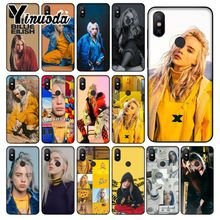 Yinuoda Billie Eilish Hot Music Singer Star Phone Case Cover for Redmi 5 plus Note 4 4X Xiaomi MI 6 8 8SE Mobile