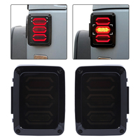 High Quality 1 Pair Tail Light Lamp Generation 4th US For Jeep Wrangler Tail Light Tail