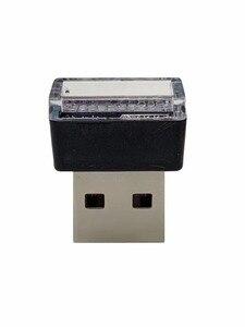 Image 2 - T10 lampada Atmosfera LED W5W 194 pezzo di alluminio con lente concava 1SMD 1.5 w strumento lampada della targa di immatricolazione lampada mini usb luce
