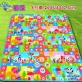 New Arrival Quality Large Baby Play Mat200*180CM Flight Chess Kids Children Beach Mat Picnic Carpet Baby Crawling Mat CM-009