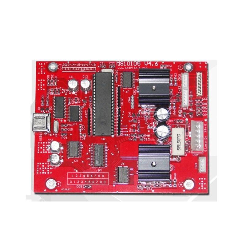 CO2 laser engraving machine laser engraver motherboard moshidraw bcxlaser co2 laser engraving machine