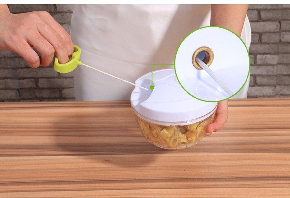 HTB10aRwajDuK1Rjy1zjq6zraFXaW Manual Food Chopper Household Vegetable Chopper Shredder Multifunction Food Processor Meat Machine Crusher Blender