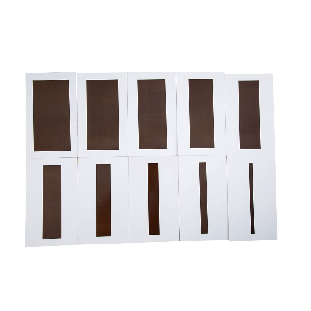 Diplomatic Montessori Sensorial Materials Brown Stairs Cards Set Learning Educational Toys For Toddlers Juguetes Brinquedos Mg1764h Home