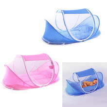 Portable Soft Baby Crib 0-3 Years Bedding Mosquito Net Foldable Bed Cotton Sleep Travel Beds Cribs Pillow Mat Setat Set