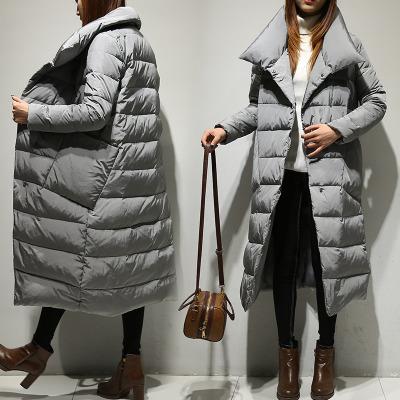 69e39e9ab69a2 Plus Size Red Long Down Parka Coat Winter Jacket Womens Down Jackets ...