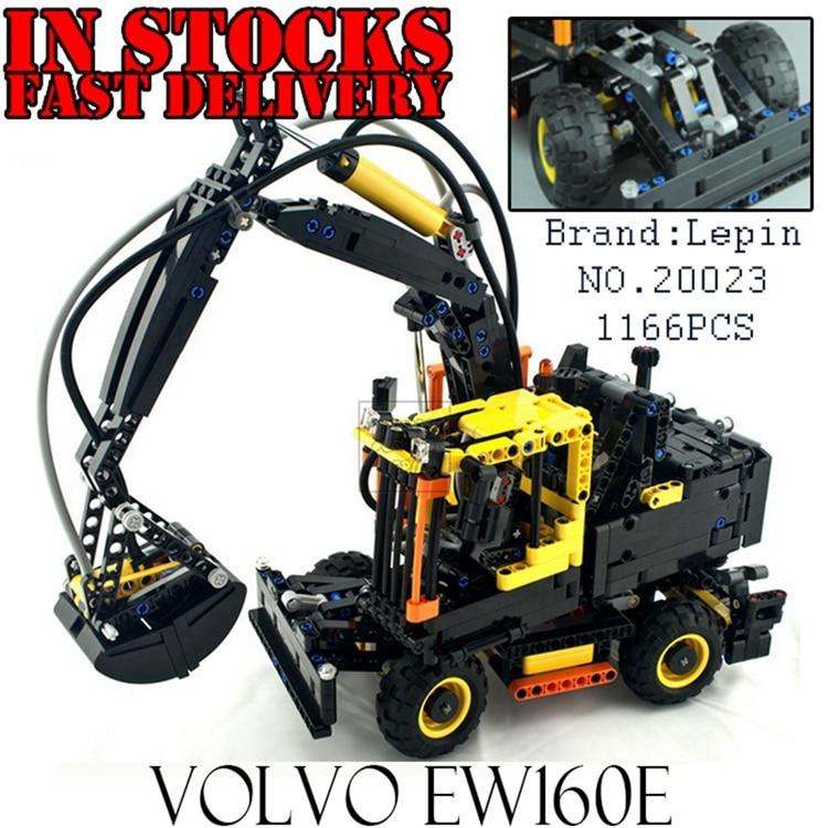 все цены на SMT097-BUFEN New lepin 20023 EW Toy building blocks bricks L30G Excavator Engineering Machine technic 1166pcs compatible 42053