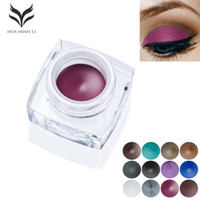Water Resistant Eyebrow Eyeliner Eyebrow enhancer cream and Sweat Eyebrow Tint different color eyeliner Cosmetics Makeup