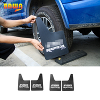 HANGUP ABS Car Exterior Front Rear Mudguards Mud Flaps Splash Guards Decoration Trim Stickers fender for FORD F150 2015 2016