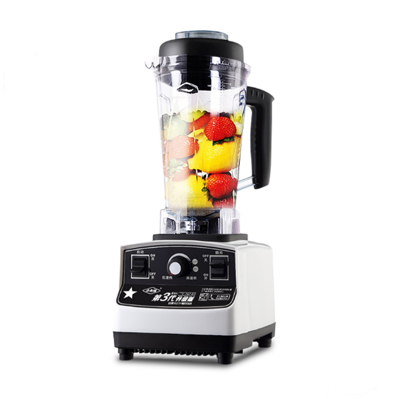 Electric Multifunctional Cooking Machine Fruit Mixer Ice Crusher Soybean Grinding 2L Capacity 1200W Food Blender TM-767-III ice crusher summer sweetmeats sweet ice food making machine manual fruit ice shaver machine zf