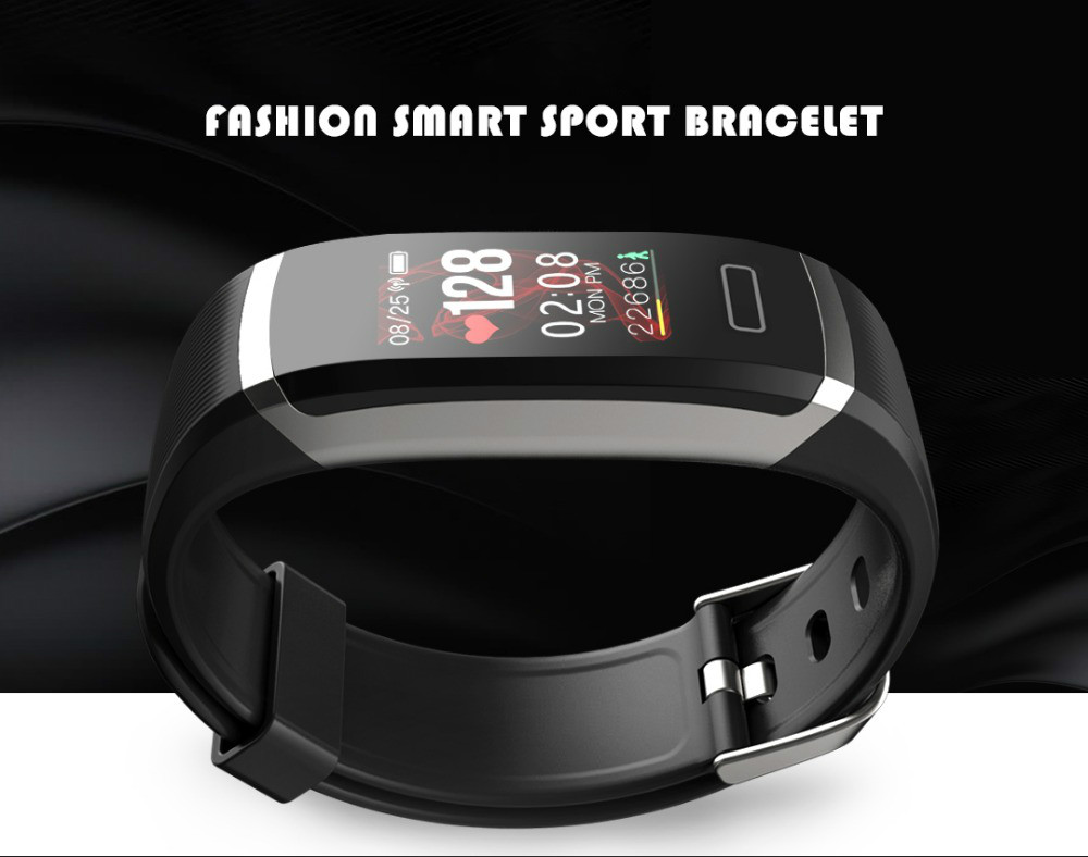 Image 5 - Smart wristband heart monitor fitness activity tracker color screen smart bracelet women men smart watch passometer tacker Hot-in Smart Wristbands from Consumer Electronics