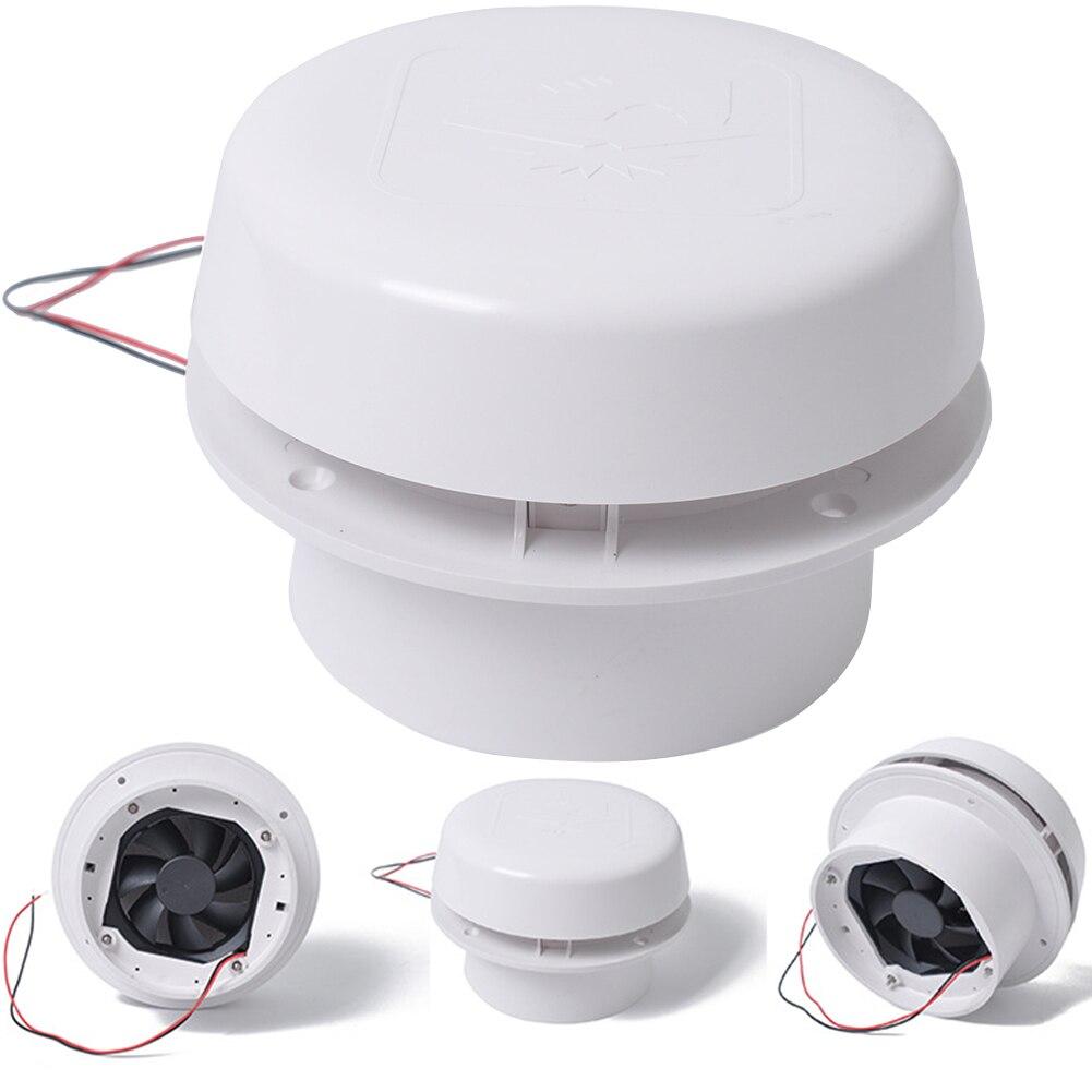 60CFM refroidissement 12 V plafond montage ABS remorque muet RV camping-car Ventilation efficace installation facile ventilateur d'échappement caravane toit