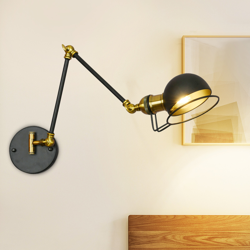 Steam punk Loft Industrial iron rust Water pipe retro wall lamp Vintage E27 sconce lights steampunk house lighting fixtures luz цена