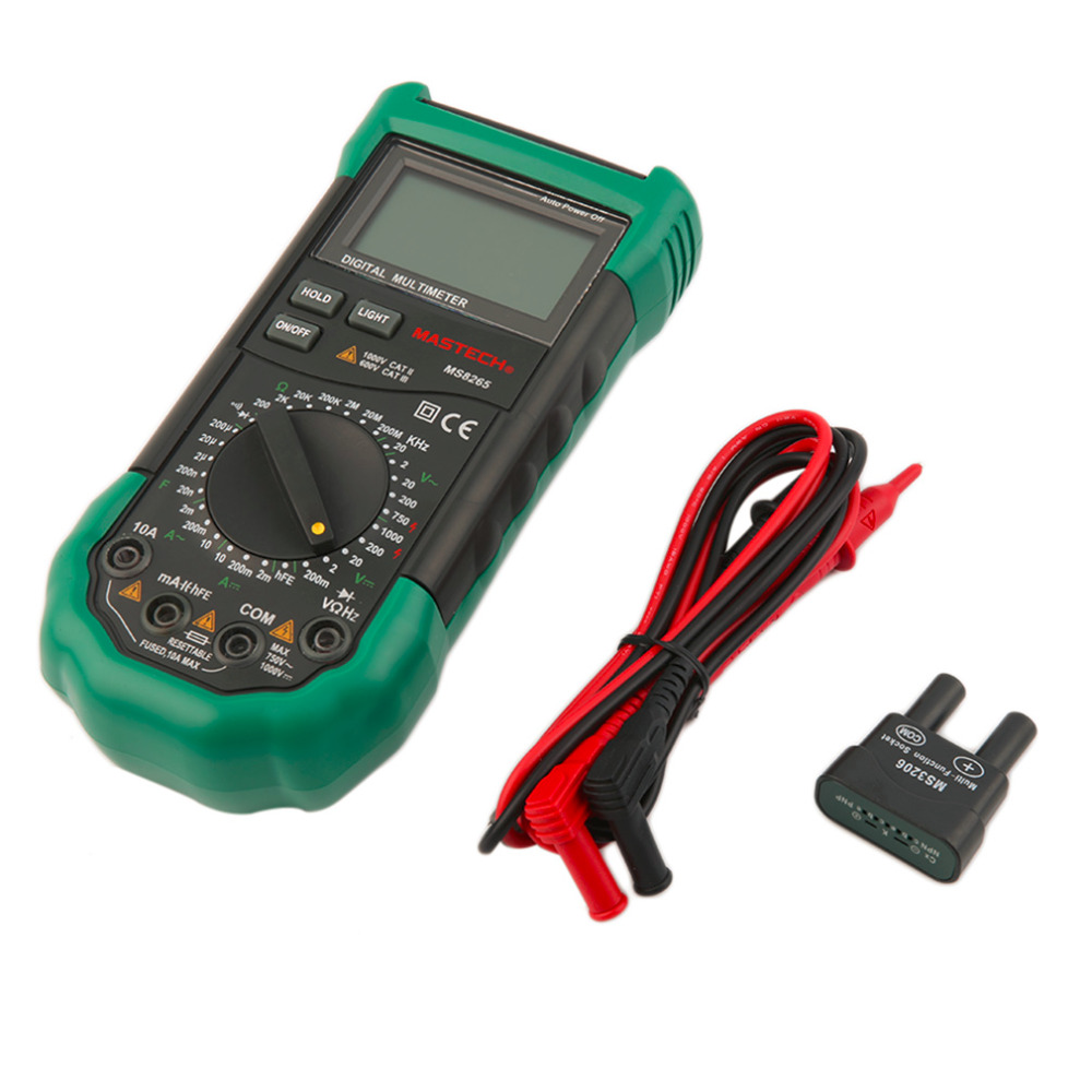 Hot 2016 High Quality Digital LCD Multimeter Voltmeter Ammeter AC DC OHM Volt Frequency Tester Test Current excel dt9205a 3 lcd digital multimeter black orange 1 x 6f22