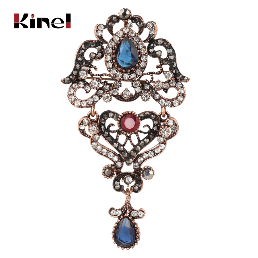 Detail Feedback Questions about Kinel Bohemia Crystal Flower Brooch ... 1e6fc6134b9d