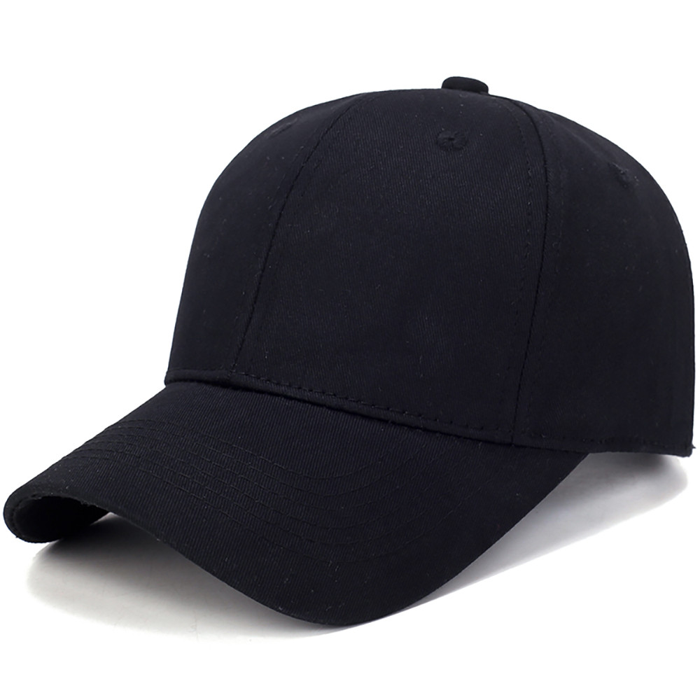 Hat Cotton Light Board Solid Color   Baseball     Cap   Men   Cap   Outdoor Sun Hat   Baseball     Cap   Female Hat #4O15