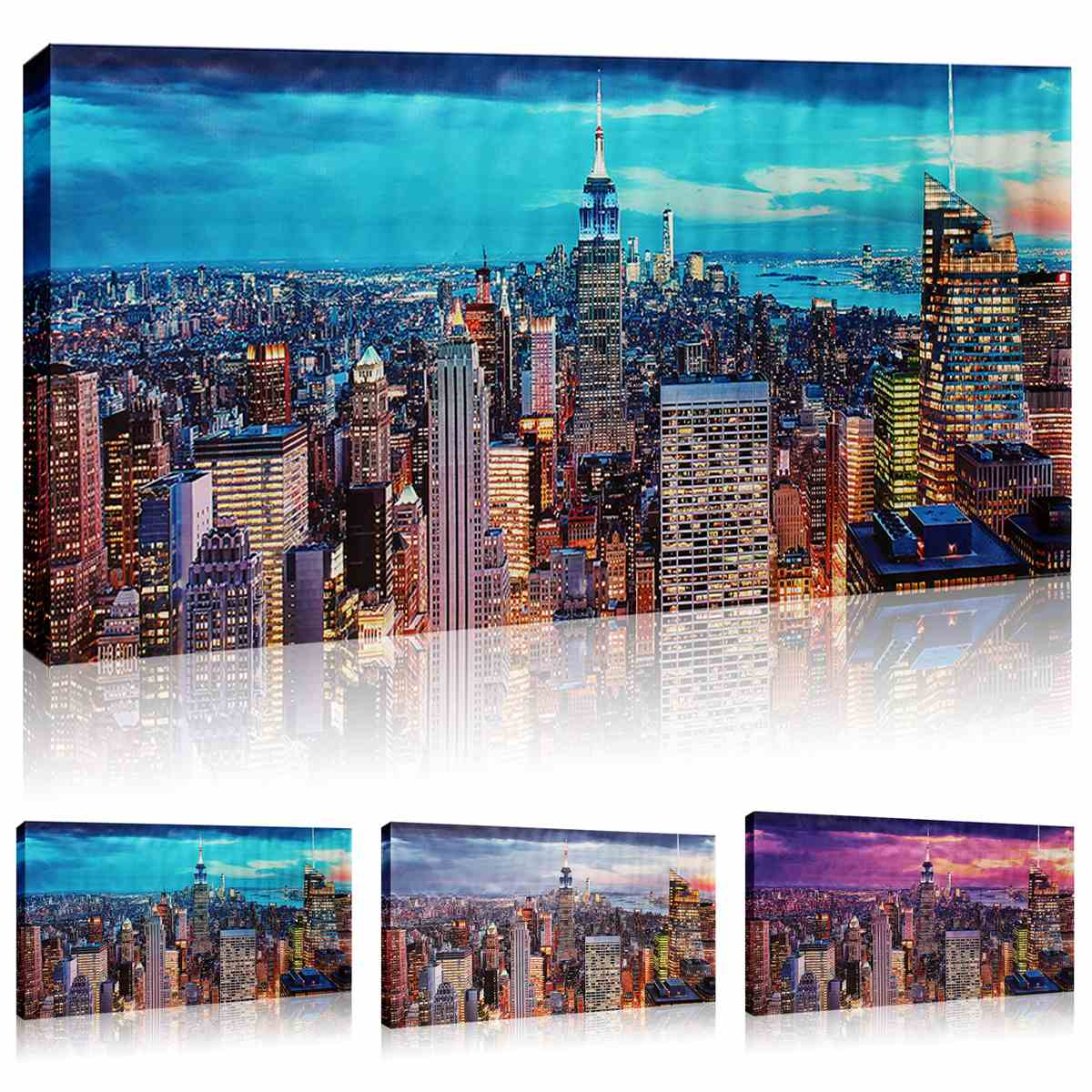 Skyscraper Pattern Five Of The Paintings Home Decorative Painting Style Home Wall Painting