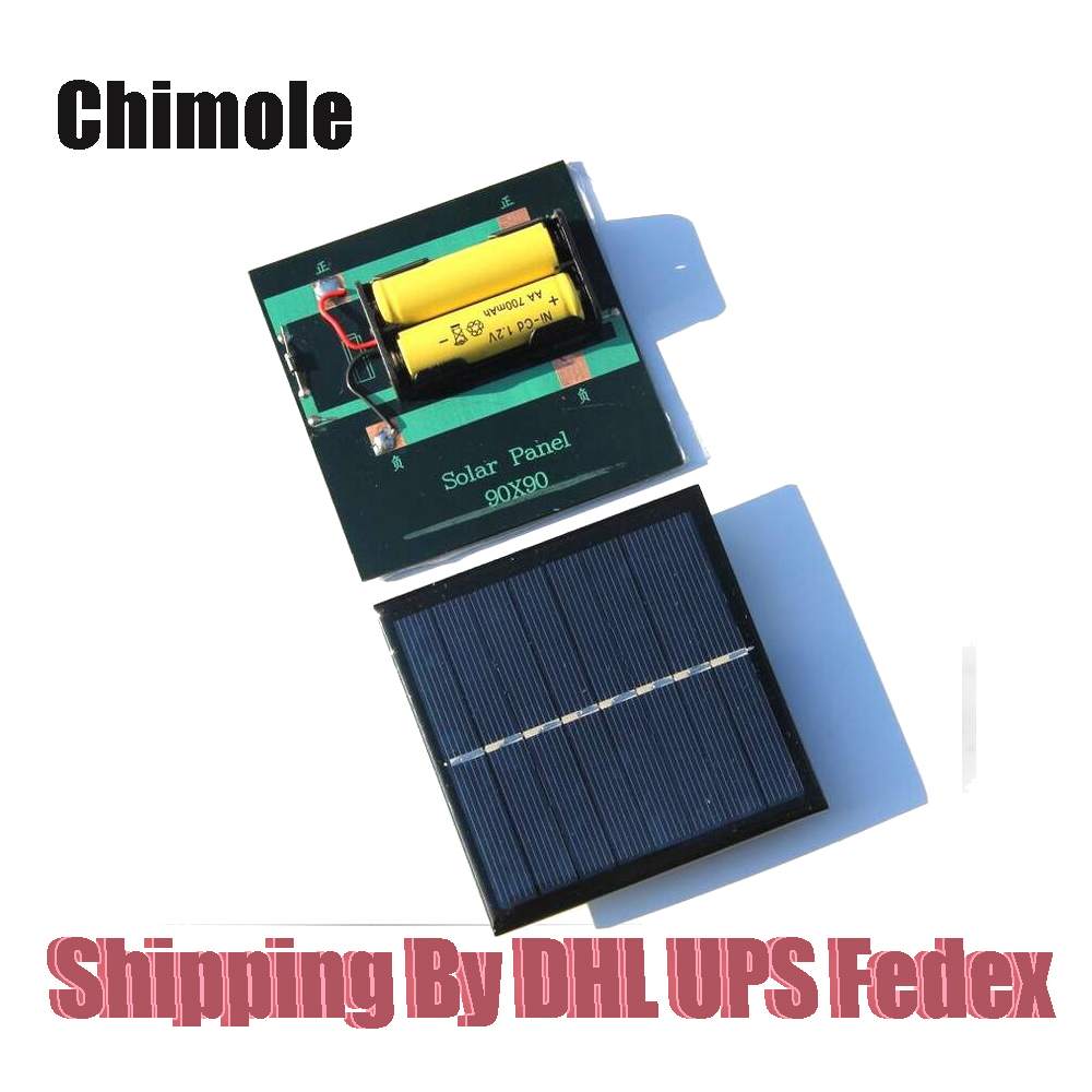 50pcs Lot 1w 2v 4v Solar Cell Chargers For Aa Aaa
