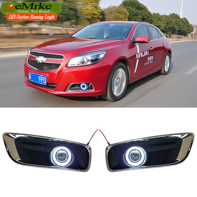 EEMRKE Car Styling For Chevrolet Malibu 2010 2015 COB Angel Eyes DRL Fog Lights 12V H11_640x640 eemrke car styling for chevrolet malibu 2010 2015 cob angel eyes drl