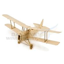 Balsawood RC Plane Mini Tiger Moth Training Airplane Model U
