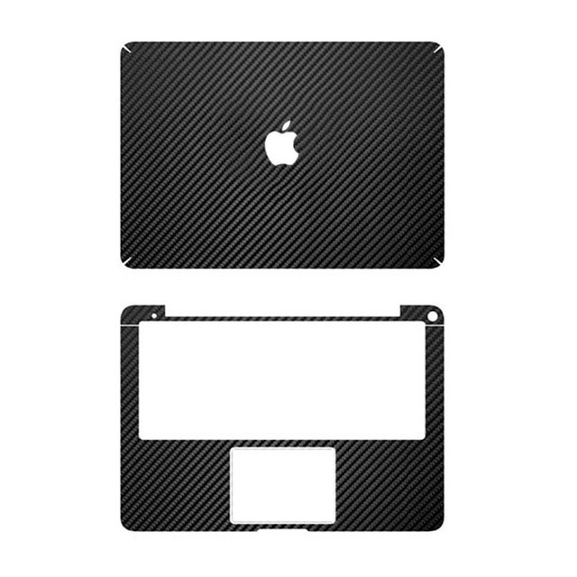 hot sale online ed57a df64f US $20.99 |Black Carbon Fiber Full Body Cover Laptop Decal Sticker Case For  Apple Macbook Air 13 13.3 inch Laptop Protective Shell Skin-in Laptop ...