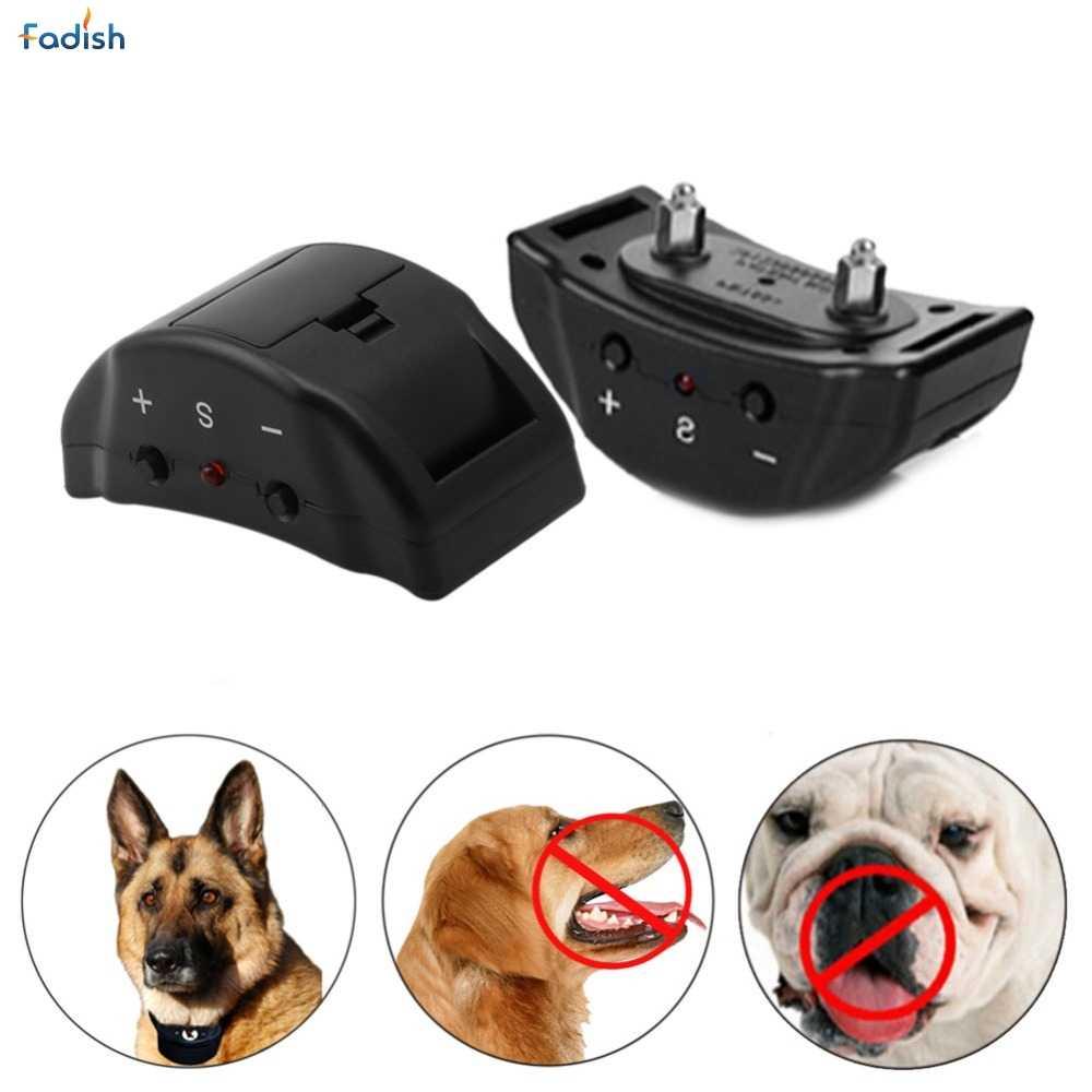 Nuevo Collar eléctrico de Control remoto Anti ladridos sin golpes para adiestramiento de perros y mascotas ultrasónico APR19