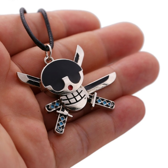 One Piece Anime Skeleton Necklace Pendant