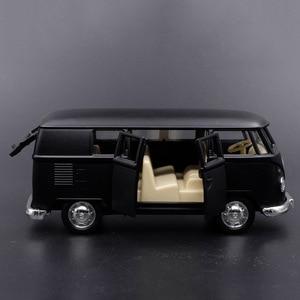 Image 2 - Coche de juguete clásico Retro de alta simulación para niños, furgoneta de 1:36 V