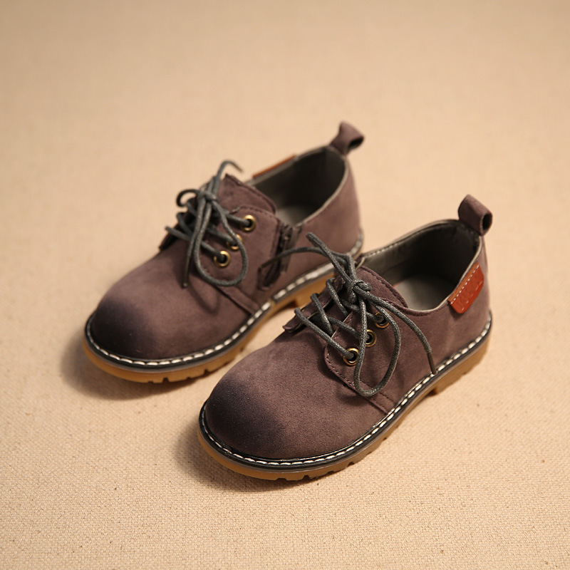 Fashion teenager casual leather shoes Pumps Childrens leather shoes Boys shoes Spring autumn new childrens casual shoes