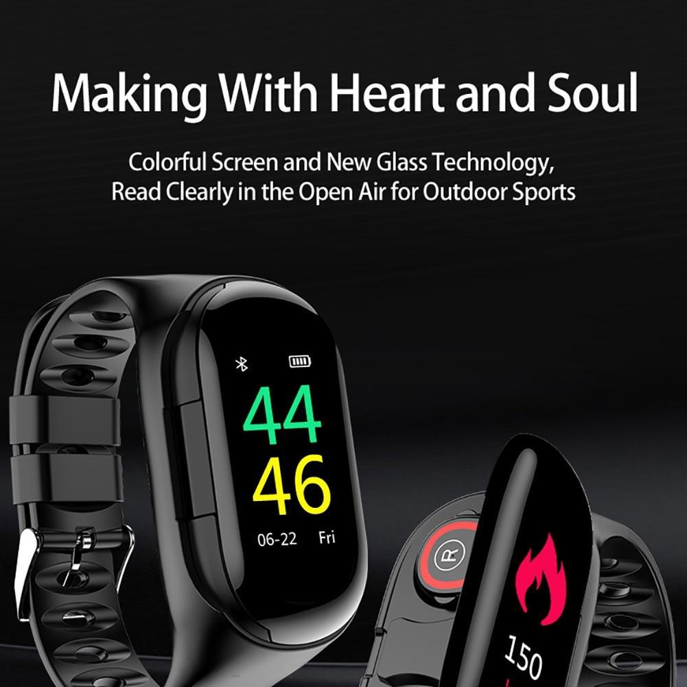 monitor freqüência cardíaca pulseira inteligente 15 dias standbys esporte relógio