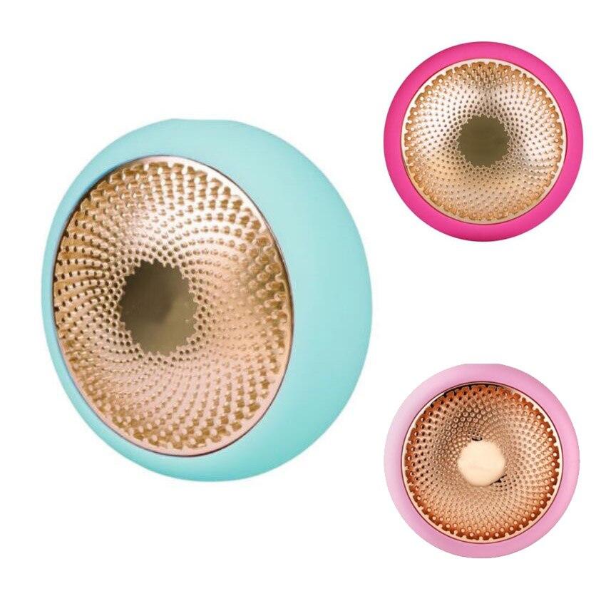 Novedad maquillaje máscara inteligente tratamiento dispositivo LED termo activado tratamiento fucsia verde rosa-Elige tu Color