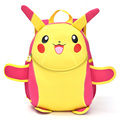 2016 Cute Cartoon Pikachu School Bags For Girls Kindergarten Kids Bags Baby Backpack sac a dos enfant Schoolbags for Age 1-3