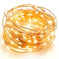 LED String Lights Copper Wire Waterproof Starry String Lights Decor Rope Seasonal Decorative Christmas Holiday Wedding Parties