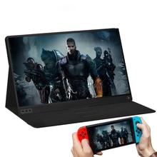 Купить с кэшбэком ZEUSLAP 15.6 inch 1920x1080p ips screen usb port type c monitor portable screen gaming monitor