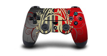 1pc AC Milan Football Team PS4 Skin Sticker Decal For Sony PS4 Playstation 4 Dualshouck 4 Game PS4 Controller Sticker